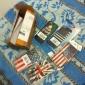 Gardez le calme que je suis boîtier en plastique dur brésilien de modèle de drapeau du Brésil pour iPhone 5/5S