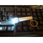 S003 1-Mode 7-LED White Light Keychain Flashlight (4xLR44)