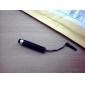 3.5MM 반대로 먼지 iPad, 아이폰 및 다른 사람을위한 플러그인 (분류 된 색깔)를 가진 75mm 접촉 첨필 펜에 쑥 내밀 수있는 55mm