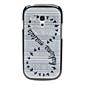 Woven cas dur de modèle de conception d'oiseau pour Samsung Galaxy S3 mini-I8190