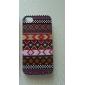 Жесткий защитный чехол для iPhone 4/4S с узором в виде фиолетового орнамента