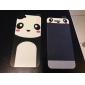 Autocollant de peau de panda Conception avant et arrière pour l'iPhone 5