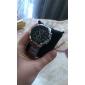 CJIABA 8023 Стальной браслет кварцевые аналоговые мужские наручные часы - черный + серебро (1 х LR626)