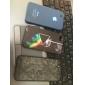 Capinha Macia Transparente Fina para iPhone 4 / 4S (cores sortidas)