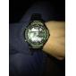 SKMEI 남성 스포츠 시계 밀리터리 시계 손목 시계 LED LCD 달력 방수 듀얼 타임 존 경보 스톱워치 석영 일본 쿼츠 고무 밴드 멋진 블랙