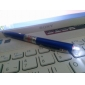 3-in-1 Ball Pen with 2-Mode White Light and 5mW Red Laser (3xLR41, Black Ink)
