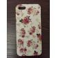 Pour Etuis coque Motif Coque Arrière Coque Fleur Dur PUT pour iPhone SE/5s iPhone 5