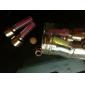 Eclairage vélo conduit buse enjoliveur de valve de lumière de gaz feux clignotants couleurs assorties
