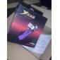 Ergonomie Design antibruit Salut-Fi casque stéréo omnidirectionnel de haut-parleurs pour Game (Black & Violet)