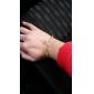 douce d'or chaîne en alliage de femmes et bracelet à maillons (1 pc)