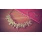 Мисс rose®alloy кленовый лист шаблон ожерелье