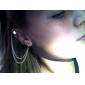 Золото-Tone Сеть кистями тумака уха