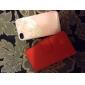 элегантный пу кожаный чехол для Iphone 4 / 4s флип-дизайн стенда задняя крышка бумажник с слот для карт памяти