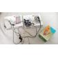 클립 블루 & 화이트와 TF 카드 판독기 MP3 플레이어 가방