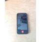 Custodia in silicone per iPhone 4 -Nero