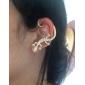 Brinco Punhos da orelha Jóias Casamento / Pesta / Diário / Casual Liga / Zircão Feminino