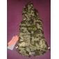 Mode Camouflage Casual froid plume veste en coton rembourré pour Animaux Chiens (Assorted Taille)