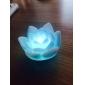 매혹적인 연꽃 모양 컬러풀 LED 나이트 조명 (3xAG13)