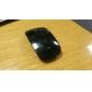 Mini ratón óptico inalámbrico de 2,4 GHz 800 / 1200dpi con receptor usb (negro)