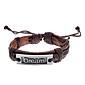 Unisex Dream Fabric Leather Bracelet(Random Color)