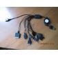 UB зарядное устройство, адаптер для мобильных телефонов, 10-в-1 (100 ~