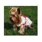 Коты / Собаки Платья Белый Одежда для собак Лето / Весна/осень Мода