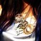 Shixin® Ethnic (Goat) Silver Alloy Pendant Necklace (1 Pc)