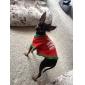 Собаки Футболка Красный Одежда для собак Весна/осень Буквы и цифры Праздник / Рождество
