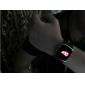 Relógio Unissex Quadrado com Mostrador de LED Vermelho