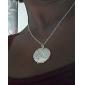 Серебряный Ожерелья с подвесками Серебрянное покрытие Свадьба / Повседневные Бижутерия