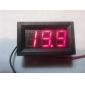 "V27D 0.56"" LED 3-Digit Direct-Current Voltmeter Meter Module (Black + Red, DC 2.5~30V)"