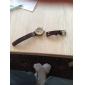 SHENHUA® Men's Vintage Skeleton Bronzen Dial Leather Band Automatic Self Wind Wrist Watch Cool Watch Unique Watch Fashion Watch