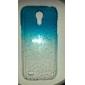Para Samsung Galaxy Capinhas Transparente Capinha Capa Traseira Capinha Cores Gradiente PC Samsung S4 Mini