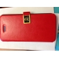Solid Color Full Body Case with Card Slot and PC Back Cover for iPhone 5/5S (Optional Colors)