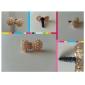 Joyland Alloy Pearl Bowknot Pattern Anti-dust Plug