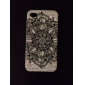 Pattern Flower Soft Case de silicone para iPhone4/4S