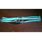 Multicolore Bracelet gainé de tissu vintage 7Cm femmes (multicolore) (1 pc)