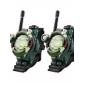 Watch Style Walkie Talkie with Magnifier, Light and Compass