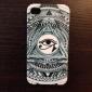 Padrão Triângulo Olhos Hard Case para iPhone4/4S