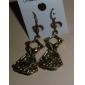 Retro dress sub earrings earrings earrings bow earrings E35