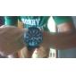 Men's Watch Dress Watch Roman Numerals Dial Silicone Strap