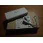 romoss 10400mah bateria universal banco de alimentação externa para o iPhone 6/6 plus / 5 / 5s / samsung s4 / s5 / nota 2 (branco)