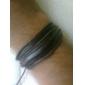 Leather Bracelet  Fashion Simple Style Bracelet Hemp Rope Braided Leather Chain Unisex Cuff Bracelets Couple Bracelet Jewelry Christmas Gifts