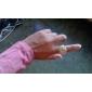 les femmes le cœur - en forme de bague en alliage de style analogique montre à quartz (couleurs assorties)