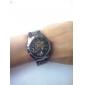 SHENHUA Homens Relógio de Pulso relógio mecânico Automático - da corda automáticamente Gravação Oca Aço Inoxidável Banda LuxuosoPreta