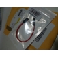 0.2M 0.66FT 3.5mm Stereo Male to Male M/M Jack Audio AUX Cable