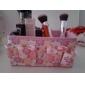 Folding Quadrate Cosmetics Storage Stand Box Makeup Brush Pot Cosmetic Organizer(3 Color to Choose)
