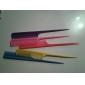 5 Pcs Plastic Rat-Tail Comb(Random Color)