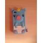 Case em Silicone para iPhone 4 e 4S - Porco (Várias Cores)