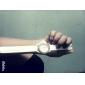 femmes en alliage montre-bracelet à quartz analogique (blanc)